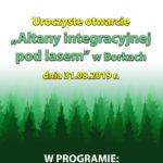 Otwarcie Altany Integracyjnej w Borkach