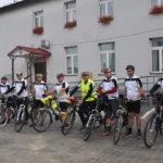 """Grupa rowerowa z Księżpola po raz pierwszy na szlaku """"Jastrzębia Zdebrz"""""""