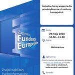 Aktualne formy wsparcia dla przedsiębiorców z Funduszy Europejskich