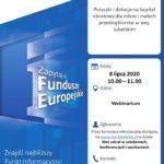 """Webinarium - """"Pożyczki i dotacje na kapitał obrotowy dla mikro i małych przedsiębiorstw w woj. lubelskim"""""""