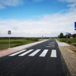 Nowa droga i chodnik w Zawadce