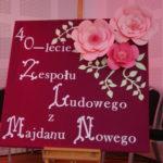Jubileusz 40-lecia Zespołu Ludowego z Majdanu Nowego