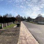 Budowa chodnika w Płusach i Korchowie Pierwszym