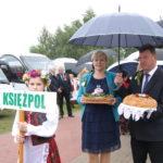 Reprezentacja Gminy Księżpol na dożynkach powiatu biłgorajskiego