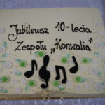 """Jubileusz 10-lecia zespołu folkowego """"Konwalia"""" z Księżpola"""